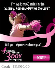 Susan G. Komen 3 Day for the Cure Preview Expo