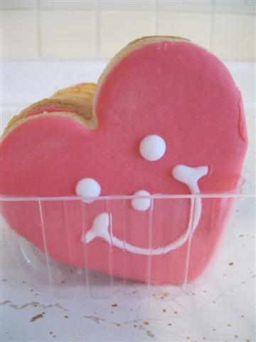 Cute Valentine's Day Gift Idea – Smiley Cookies