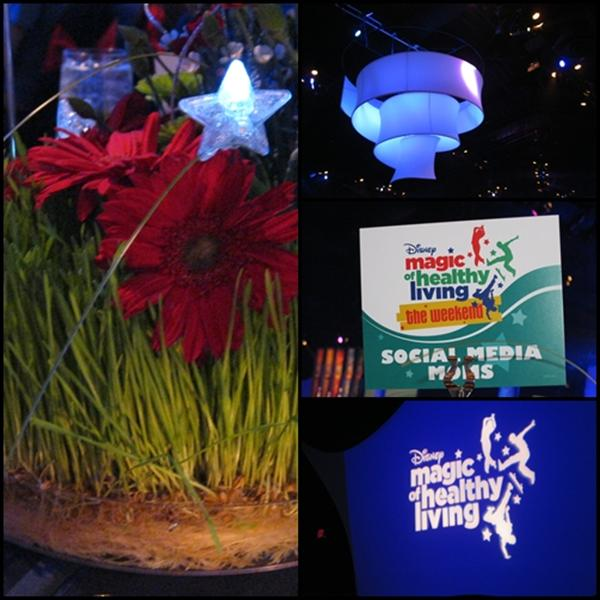 Disney Social Media Moms Magic of Healthy Living Dinner