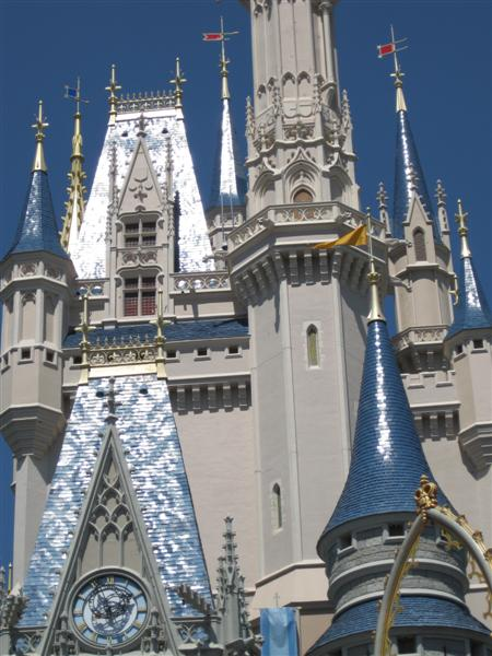 Disney World Cinderlella Castle