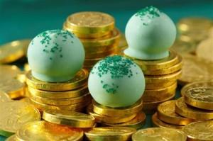 St. Patrick's Day Recipes - Mint Oreo Cookie Balls