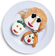 Mother's Day Recipe - Bagel Family Portrait