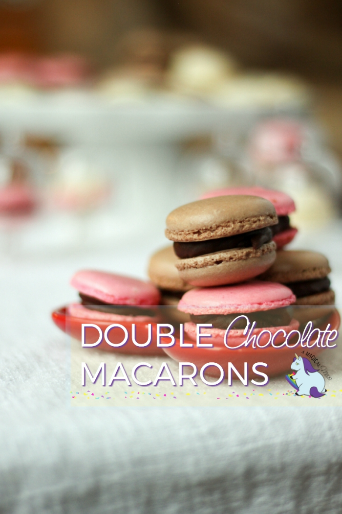 Double Chocolate Macaroons