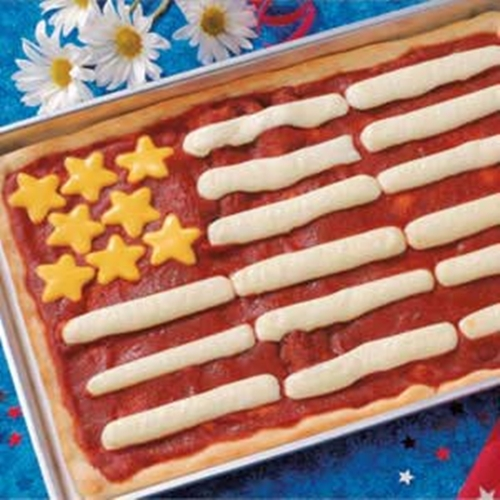 Flag Recipe Pizza