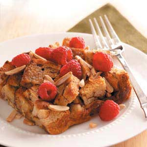 Mother's Day Recipe Raspberry Cinnamon French Toast