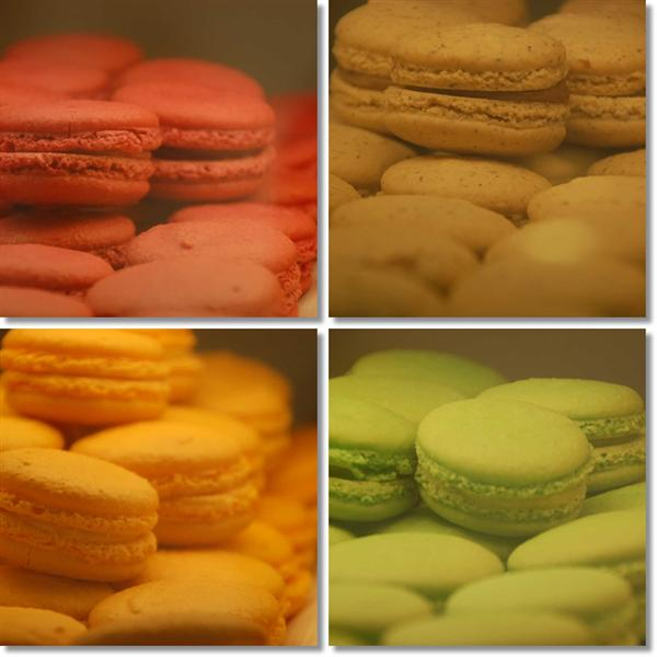 Pistacia Vera Macarons
