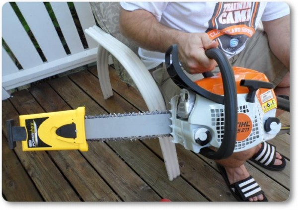 Powersharp Chainsaw Sharpener