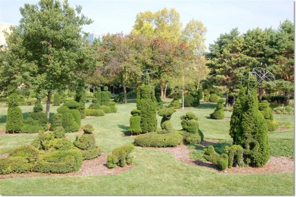 Columbus Topiary Gardens