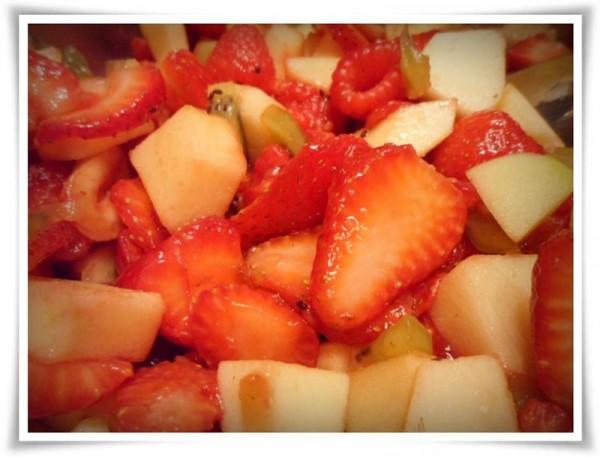 Fruit Salsa & Cinnamon Chips