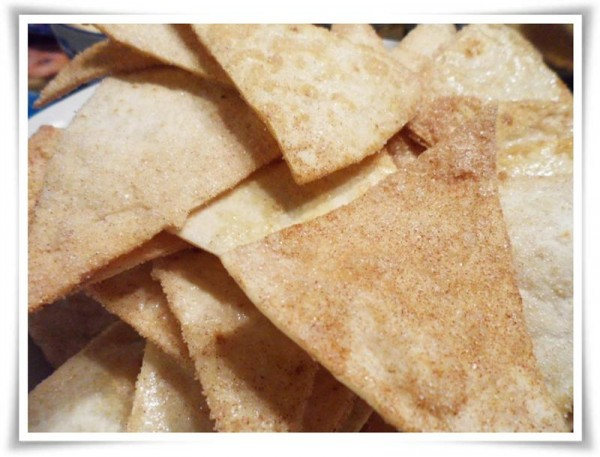 Fruit Salsa & Cinnamon Chips Recipe