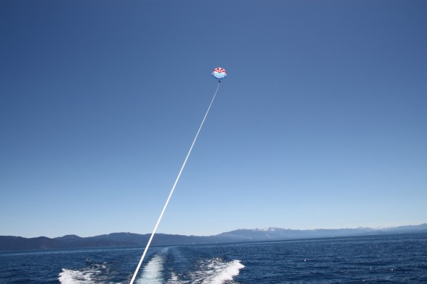 Parasailing Lake Tahoe