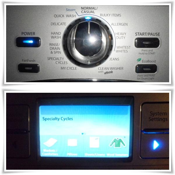 Whirlpool Duet Washer Settings