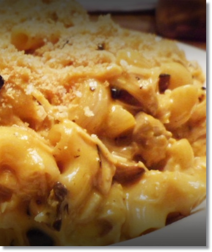 Wired 2 Tired | Best Buffalo Chicken Macaroni and Cheese
