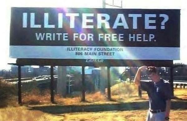 Funny Signs - Billboard