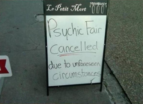 Funny Signs Psychic