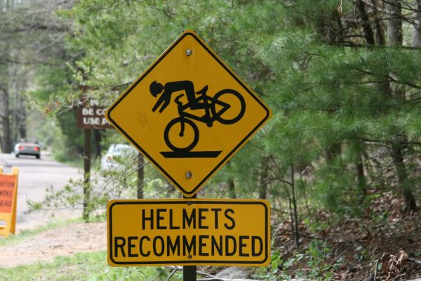 Funny Signs Bike