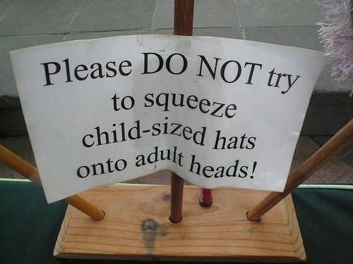 Funny Signs - Hats