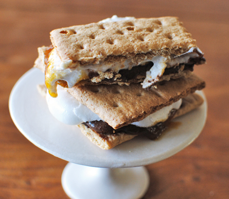 Pumpkin Pie Smores