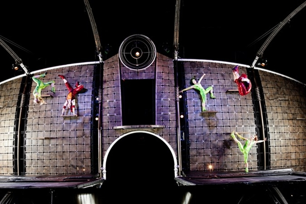 Cirque Trampoline