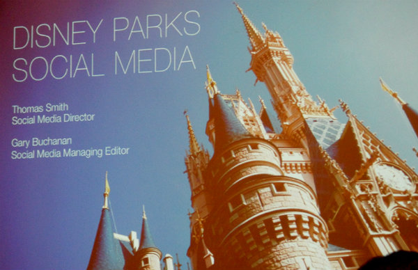 Disney Parks Social Media