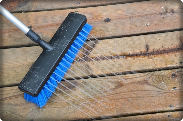 How To Deep Clean Your Deck