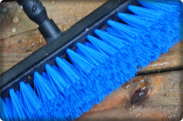 HomeRight Deck Washer Broom Bristles