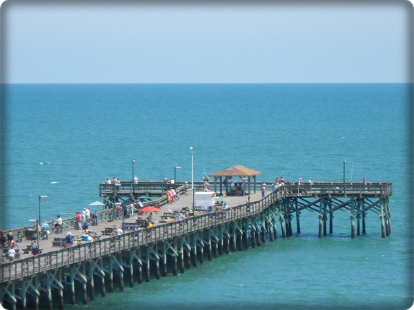 Myrtle beach trip review for Fishing piers in myrtle beach