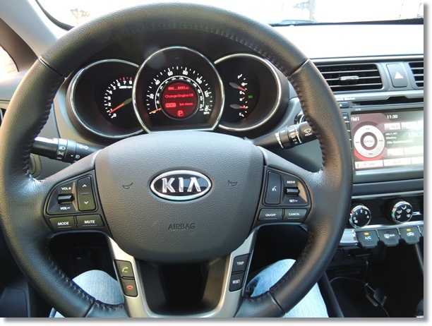 Kia Rio Steering Wheel 2 Wired 2 Tired