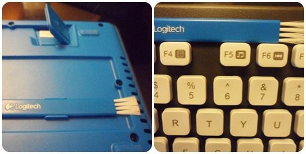 Logitech Washable Keyboard Brush