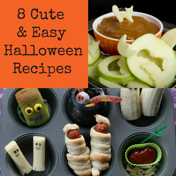 8 Cute & Easy Halloween Recipes