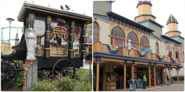 Cedar Point Halloweekends Decorations