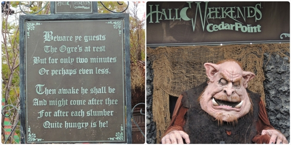 Cedar Point Halloweekends Ogre