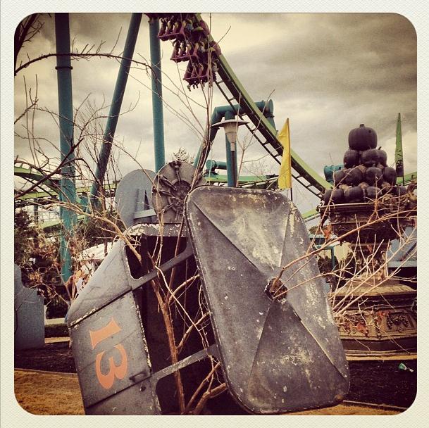 Cedar Point Halloweekends Sky Ride