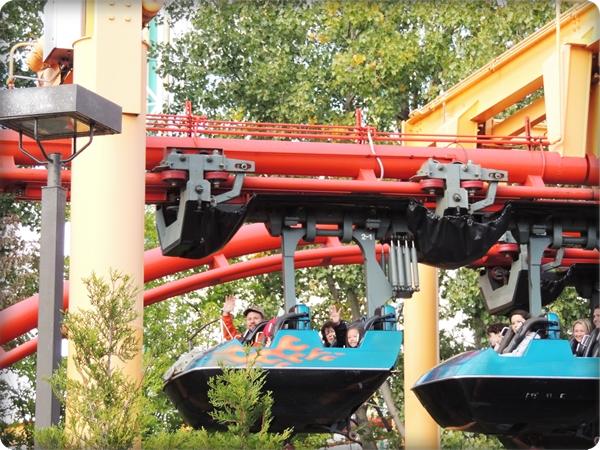 Cedar Point Iron Dragon