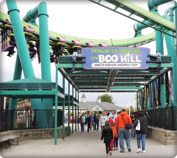 Cedar Point Magical House on Boo Hill