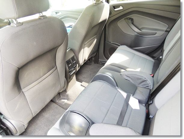 Ford Escape Back Seat