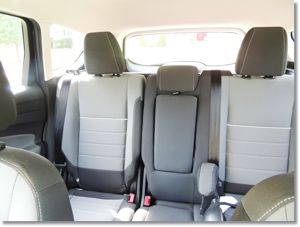 Ford Escape Backseat