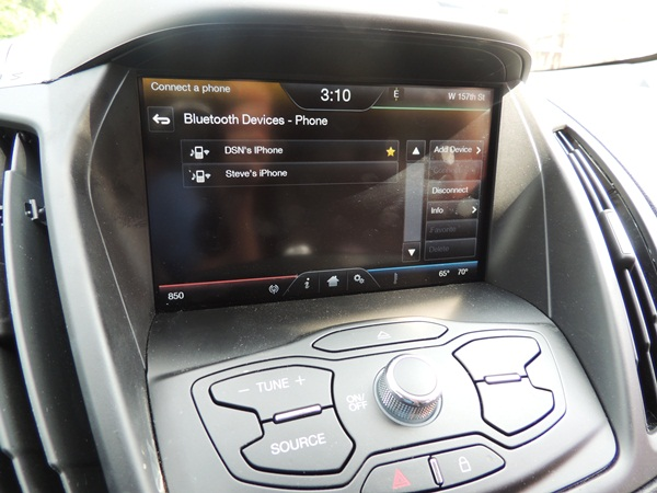 Ford Escape Bluetooth