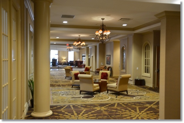 Lancaster DoubleTree Lobby