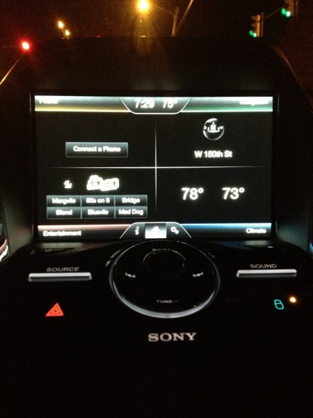 Ford Escape MyTouch