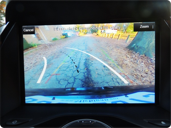 Ford Escape Rearview Camera