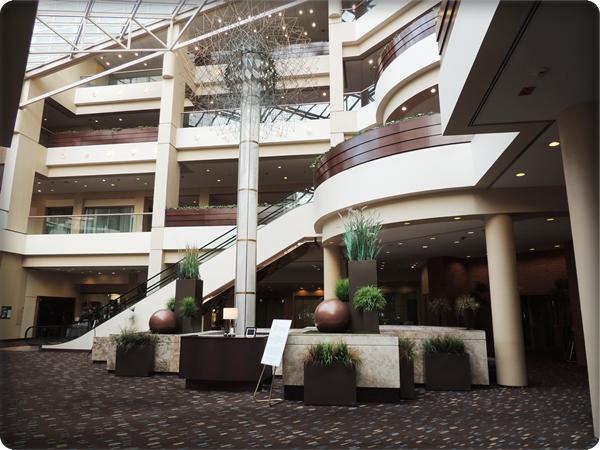 Hyatt Regency Cincinnati Lobby