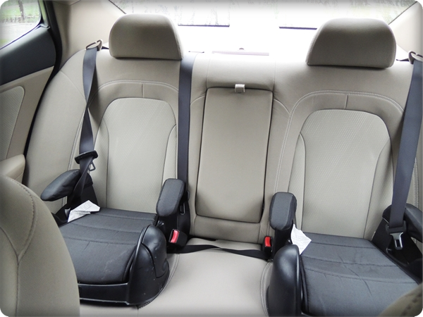 Kia Optima Back Seat