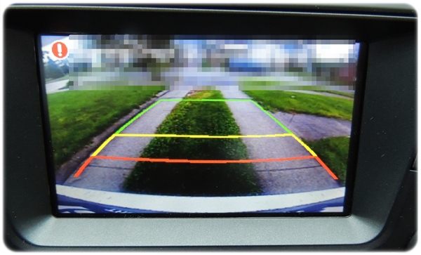 Kia Optima Rearview Camera