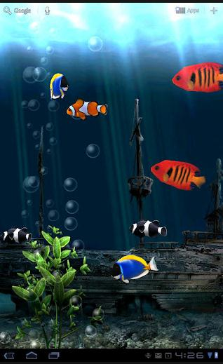 Live Wallpaper - Aquarium
