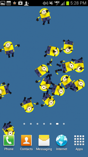 Live Wallpaper - Despicable Me