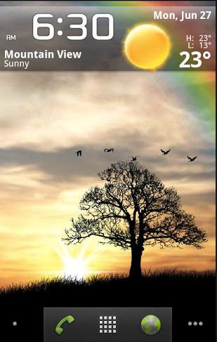 Live Wallpaper Sunrise