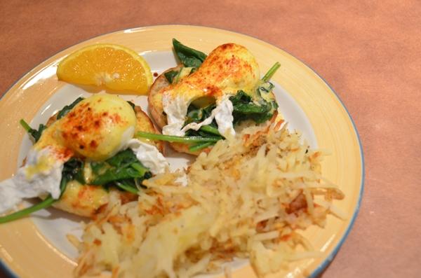 Sweetwater Bistro Eggs Florentine