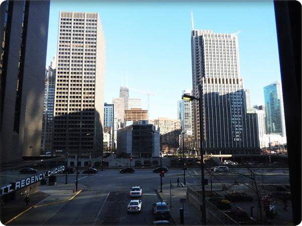 Hyatt Chicago Skywalk View