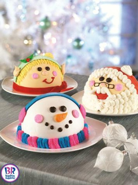 Baskin Robbins Holiday Ice Cream Cakes